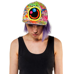 SQUIDGY FACE CAP WHITE