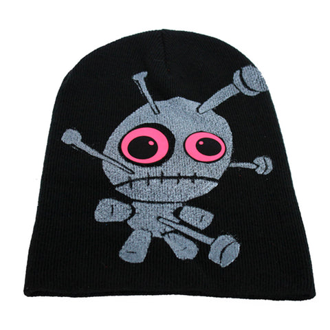 COUCHUK - UV REACTIVE - LITTLE TWISTED VOODOO BEANIE - Clubwear - PLUR - Rave clothing