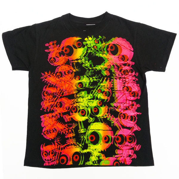 JUDDER KIDS T-SHIRT BLACK/MULTI