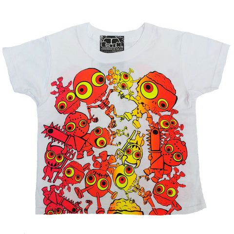 JUDDER KIDS T-SHIRT WHITE/MULTI