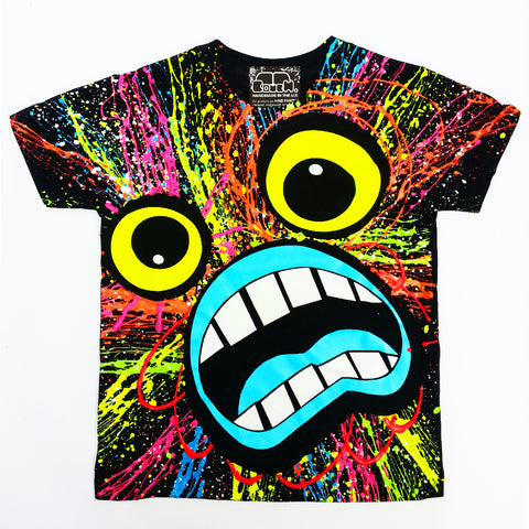 SCREAM KIDS T-SHIRT BLACK