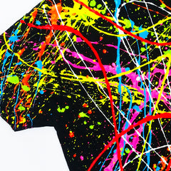 COUCHUK - UV REACTIVE - SPLAT KIDS T-SHIRT - Clubwear - PLUR - Rave clothing