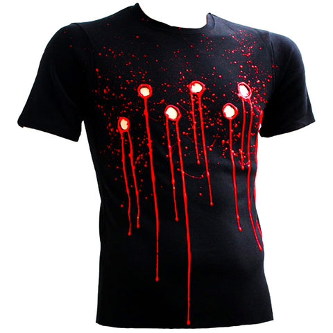 BULLET HOLE T-SHIRT BLACK
