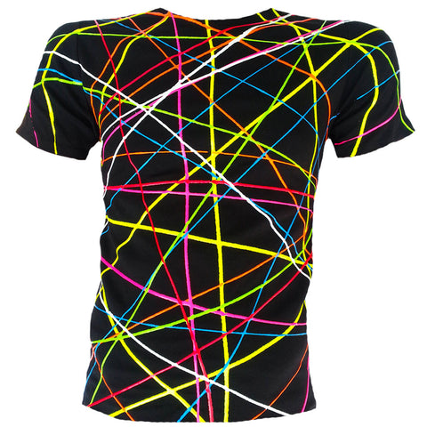 SCRIBBLE T-SHIRT BLACK