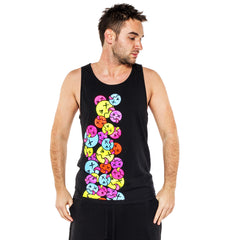 COUCHUK - UV REACTIVE - SIDE TONGUE BEATER VEST - Clubwear - PLUR - Rave clothing