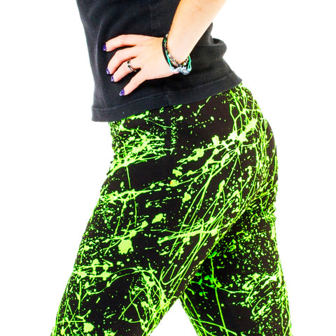 SPLAT LEGGINGS GREEN