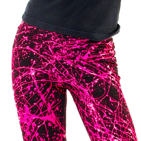 SPLAT LEGGINGS PINK