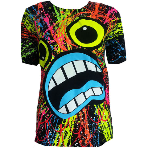SCREAM UNISEX T-SHIRT BLACK