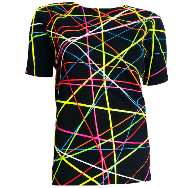SCRIBBLE UNISEX T-SHIRT BLACK