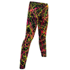 SPLAT LEGGINGS YELLOW/PINK