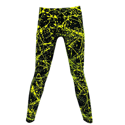 SPLAT LEGGINGS YELLOW