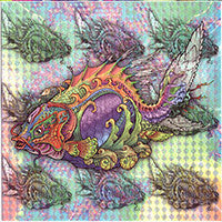 Luke Brown Blotter Art