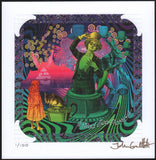 Psychedlic Wonderland Box set by John Coulthart - 12 Alice sheets Ltd 100