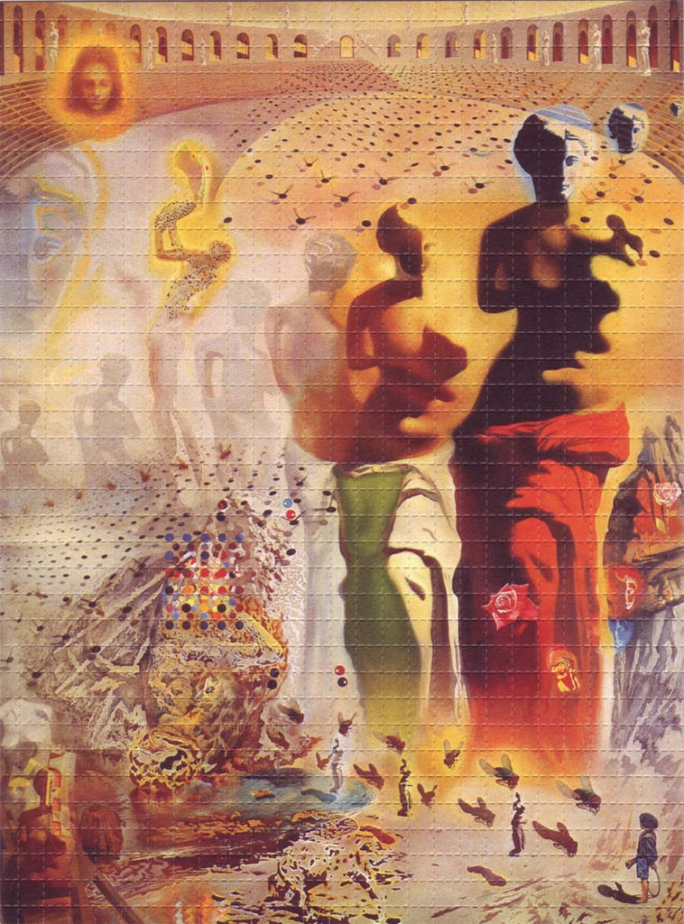 Hallucinogenic Toreador by Salvador Dali