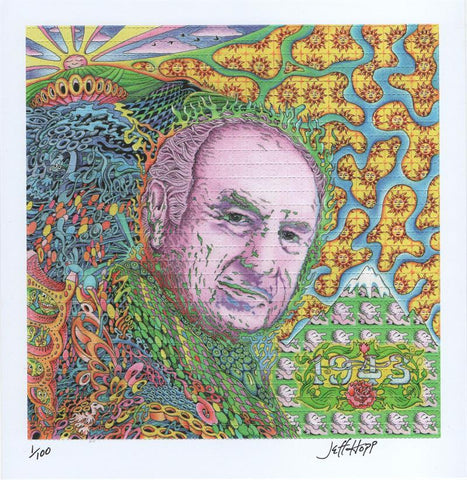 Albert Hofmann signed by Jeff Hopp