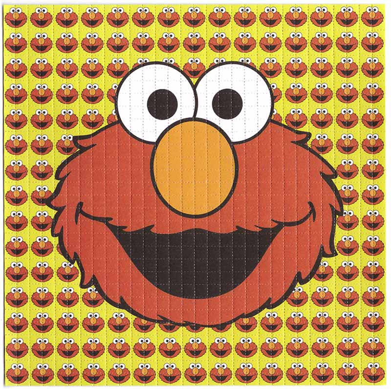 Elmo from the Muppets