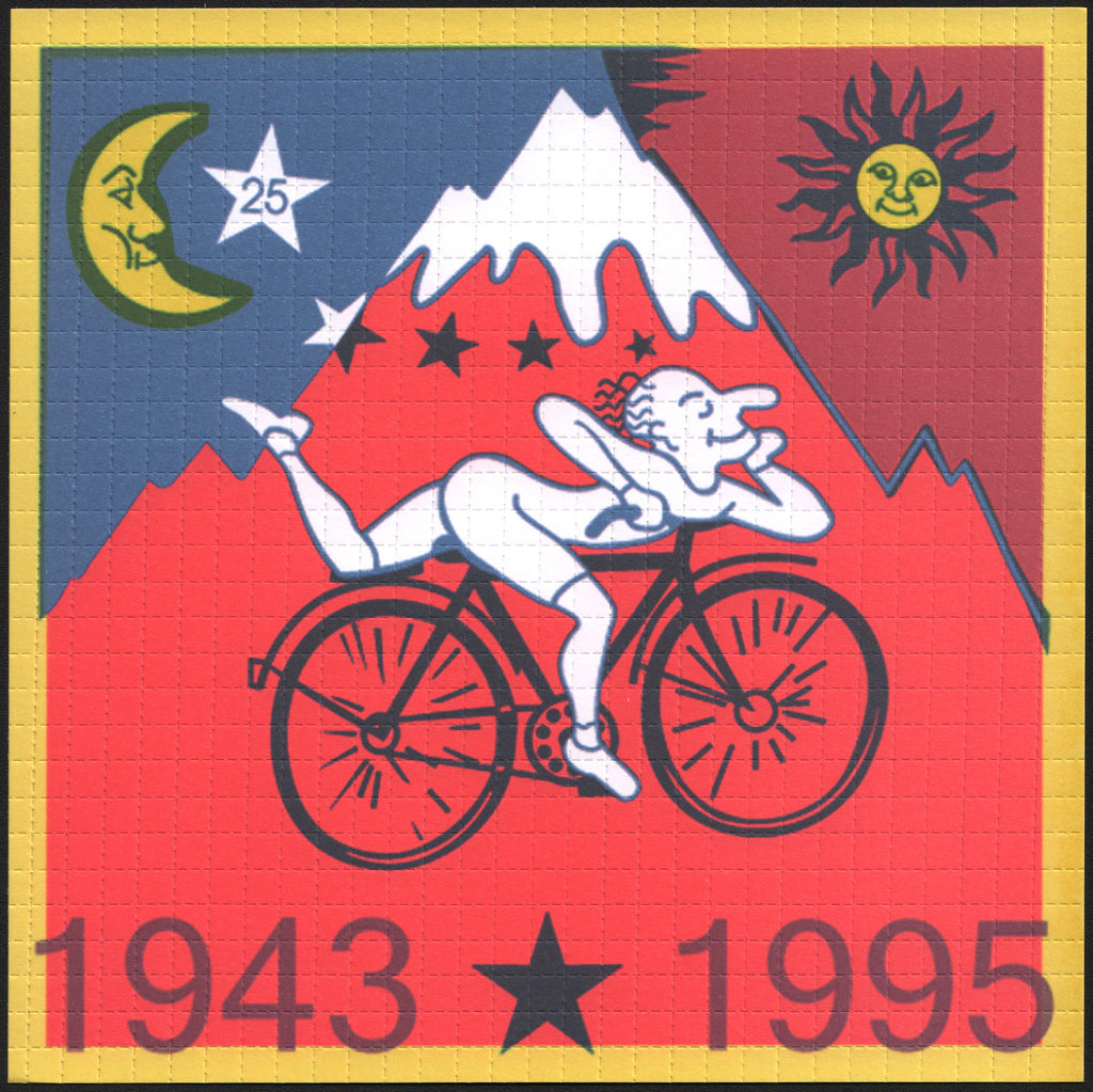 Albert Hofmann Red Bike Ride 1995 - Large
