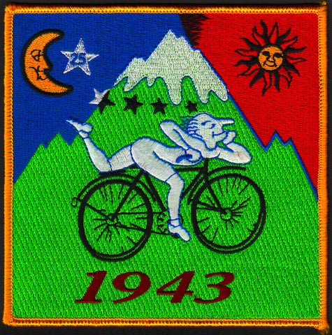 Bike Ride Iron On Patch
