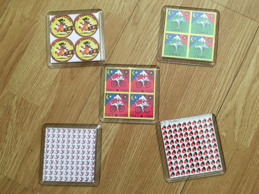 BLOTTER ART COASTERS / DRINK MATS