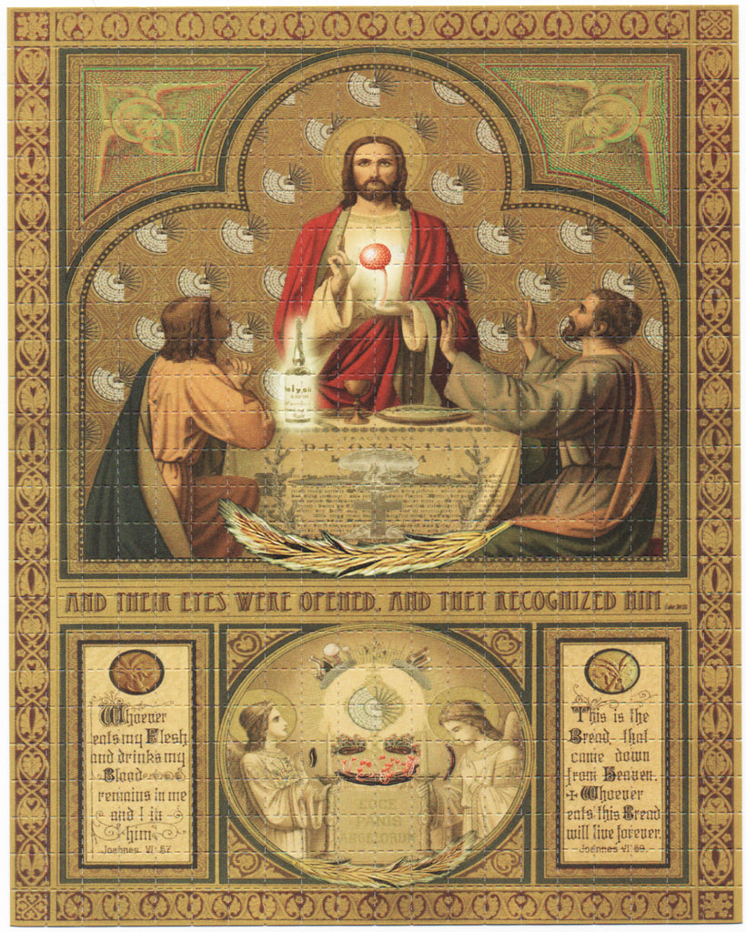 True Sacrament by Boris Hiesserer Double sided sheet