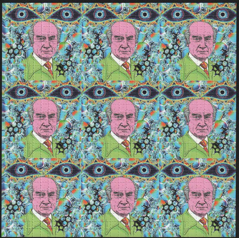 Albert Hofmann 9 panel Cartoon SALE PRICE