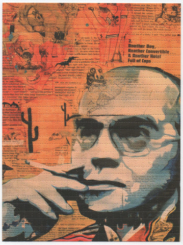 Hunter S Thompson by Kevin Mallon