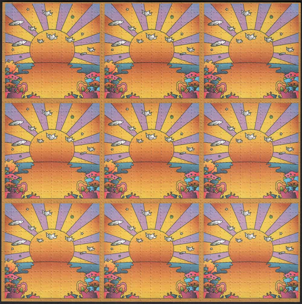 Orange Sunshine 9 Panel