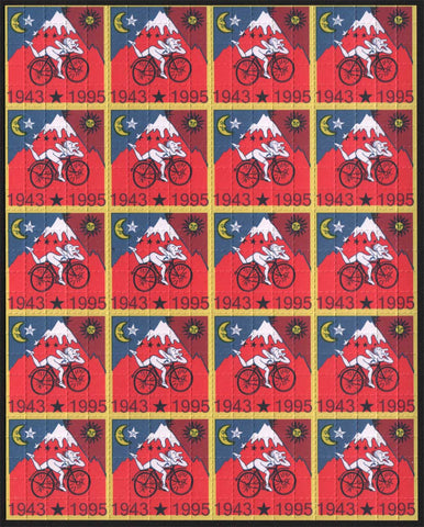 Albert Hofmann Red Bike Ride 1995 - 20 Panel