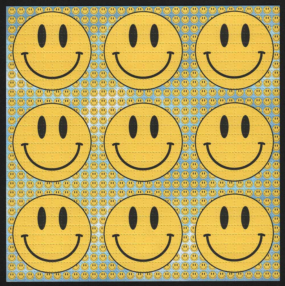 Smiley 9 Panel Sky Blue