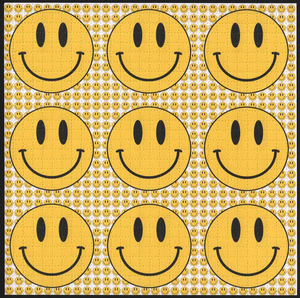 Smiley 9 Panel White