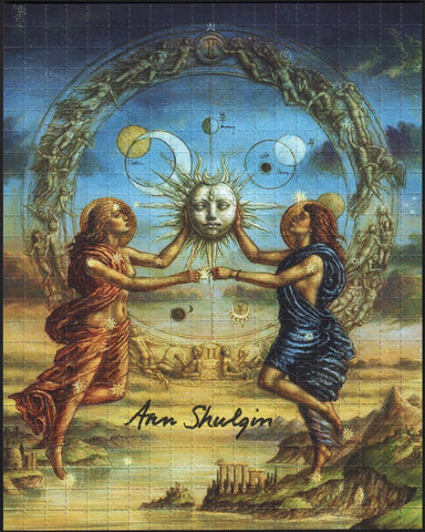 Ann Shulgin signed Sun and Moon With Photo