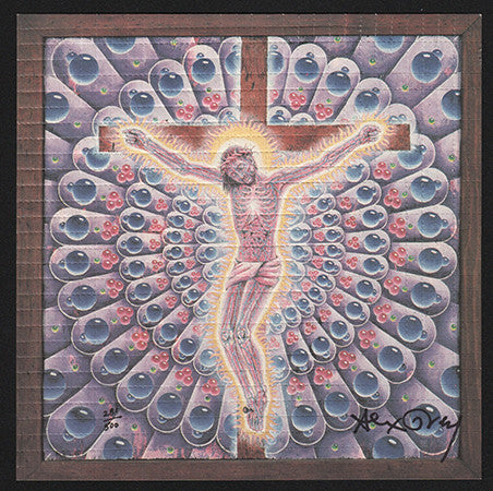 Alex Grey signed Carbon Jesus
