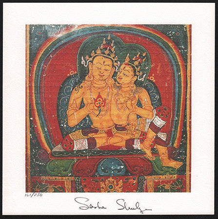 Sashs Shulgin signed Tantric Couple
