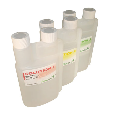 Calibration Solution set for CG200