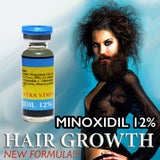STRONG FAST hair loss grow men minoxidil 12 re growth treatment serum beard oil