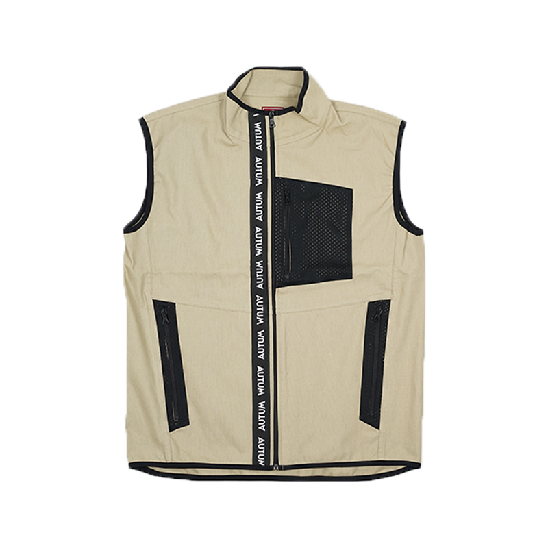 Fly Vest - beige cotton