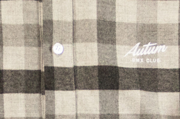 AUTUM BMX CLUB SHIRT – grey flannel