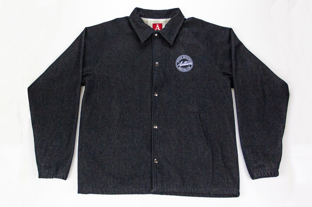 BMX FREESTYLE CLUB JACKET – black denim