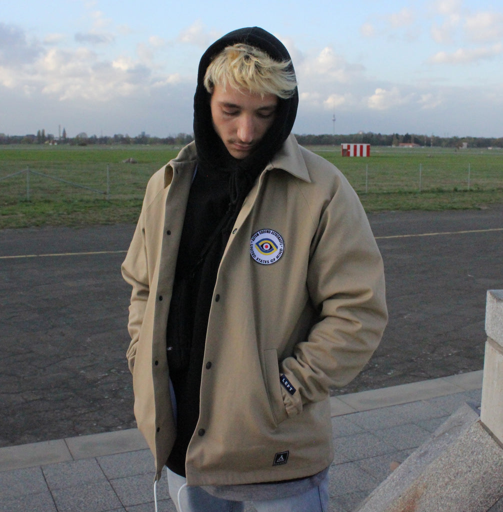 GROUND ASTRONAUTS JACKET - Beige