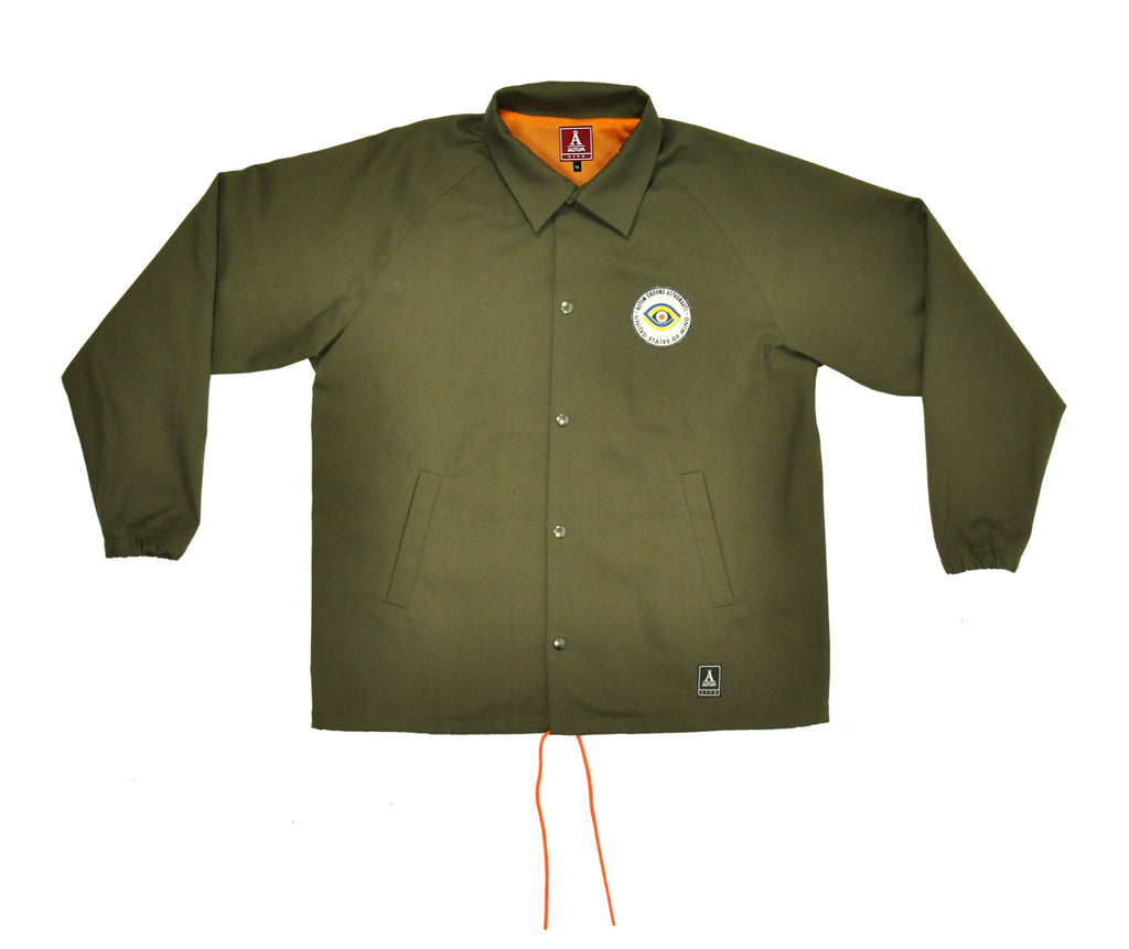 GROUND ASTRONAUTS JACKET - Olive