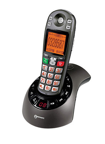 Geemarc AMPLIDECT285 Amplified Cordless Telephone With Integral Answering Machine