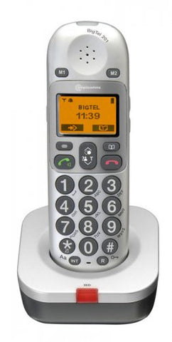 Amplicomms BigTel 201 Extra Handset Big Button Amplified Cordless Telephone