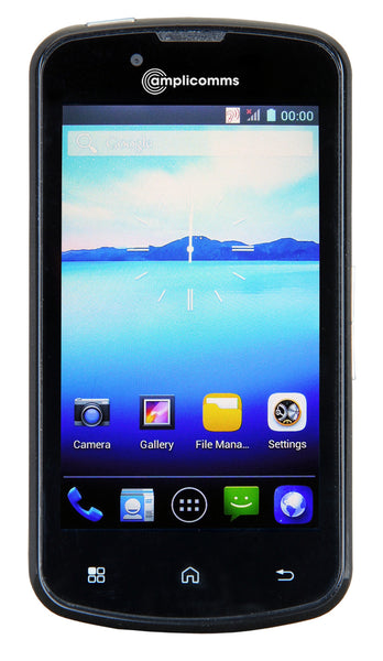 Amplicomms Powertel M9000 Amplified Mobile Smartphone With Bluetooth