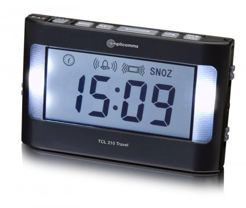 Amplicomms TCL 210 Travel Alarm Clock