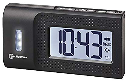 Amplicomms TCL 250 Travel Alarm Clock