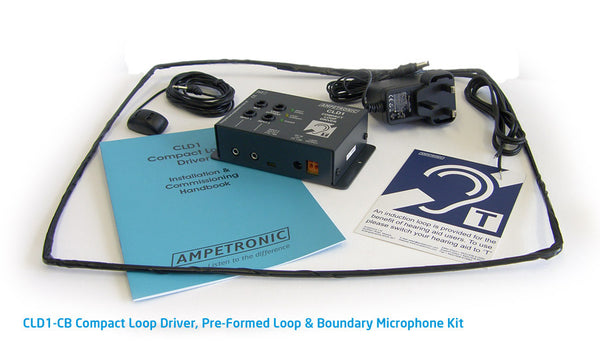 Ampetronic CLD1-CB Counter Induction Loop with Boundary Microphone