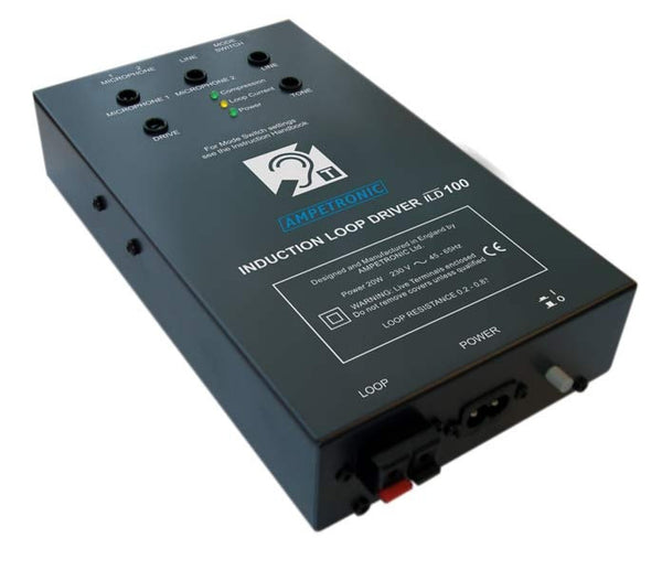 Ampetronic ILD100 Vox Switching Audio Induction Loop Driver