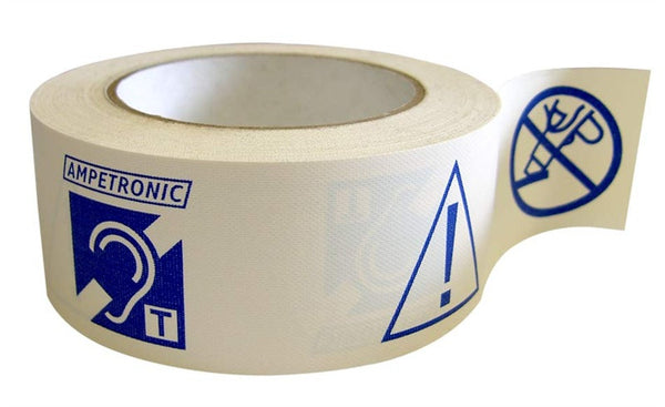 Ampetronic Printed Warning Tape