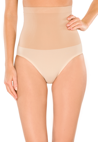 SCHIESSER Highwaist-Brief nude Seamless Medium