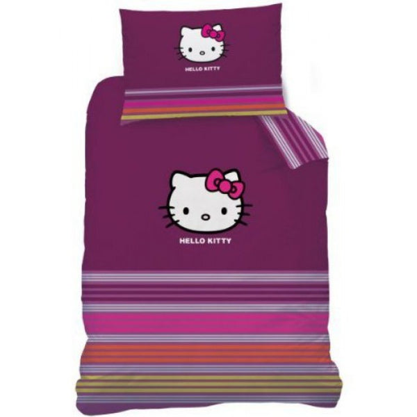 Kinderbettwäsche Set, Hello Kitty 140 × 200 cm/ 70 x 90